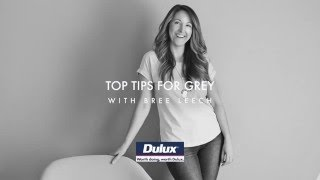 Dulux Full Colour - How to use grey