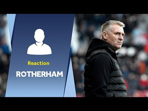 Dean Smith's Rotherham reaction: One of our best wins