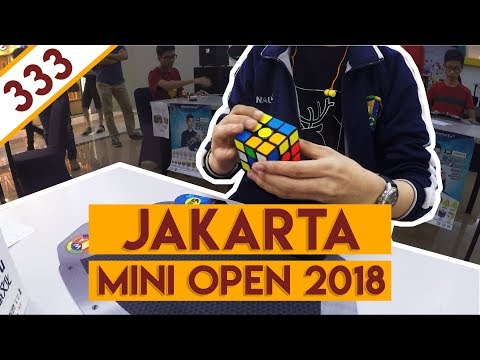 BAD..GOOD..BAD | All 3x3x3 Solves | Jakarta Mini Open 2018