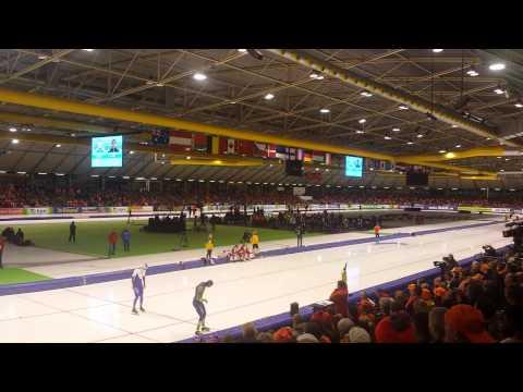 World Single Distances Championships - Kulizhnikov vs Otterspeer- Second 500m