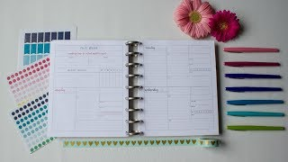 Looking Inside the Organized Life Planner  - Mid Size, Printable Version