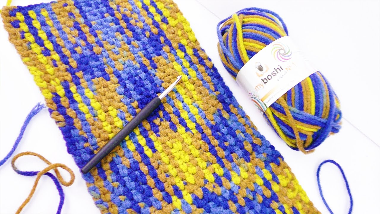 Planned Color Pooling Mit Mulitcolor Wolle Von Myboshi Tolle