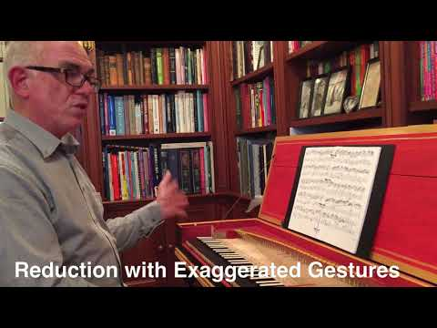 From Partimento Reduction to Gestural Performance: Robert Hill  teaches & plays Bach Largo BWV 1005