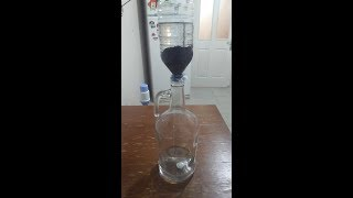 Ev Yapımı Yeşil Üzüm Rakısı Denemesi - 7 kere Filtrelenmiş Etil Alkol ile denedik (DiY)
