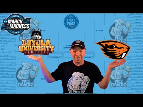 Loyola Chicago vs Oregon State 3/27/21 Free College Basketball Pick and Prediction NCAA Tournament