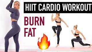 FAT BURNING, HIIT CARDIO WORKOUT (Bonus Bikini Body Challenge Video)