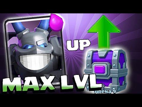Clash Royale - UPGADING TO MAX LVL! MEGA MINION RAIDS!! (New Troop Lvl )