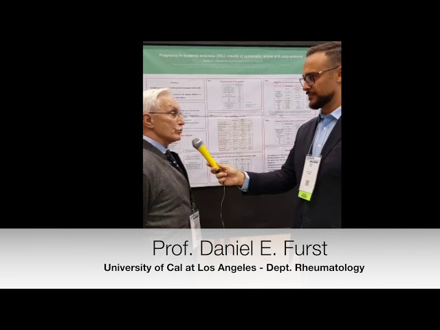 Prof. Daniel E. Furst interviewed on Pregnancy in SSc: A systematic review and meta-analysis.