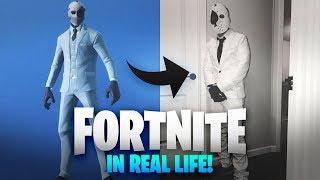 FORTNITE HALLOWEEN COSTUME!! (FORTNITE IN REAL LIFE)
