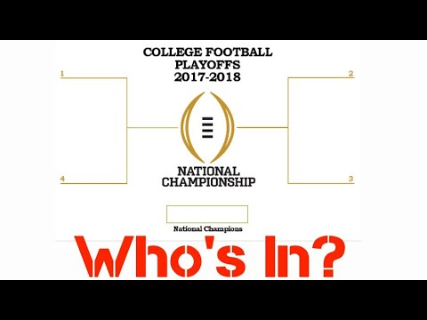 College Football Playoff Rankings #3 2017