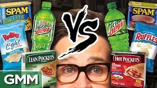 Download Diet vs. Regular Taste Test Mp3 and Videos