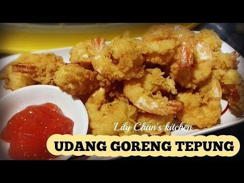 UDANG GORENG TEPUNG ala LC ( LIVE FACEBOOK 29 November 2017 )