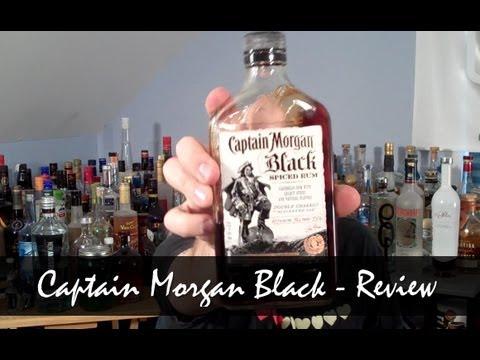 Review: Captain Morgan Black Spiced Rum