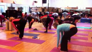 Alive Charity Classathon For Compassion In World Farming And Rockinghorse Yog With Matt