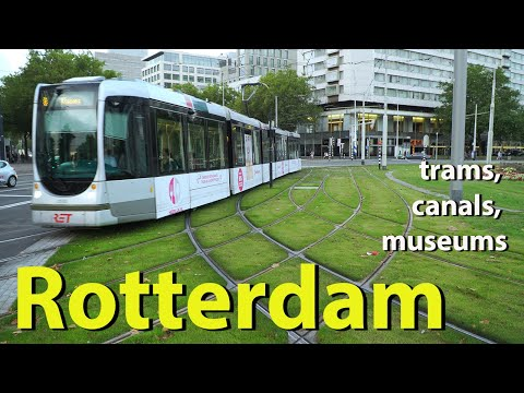 Rotterdam, trams, canals, museums, Netherlands