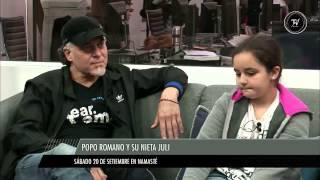 El show de Popo Romano y su nieta