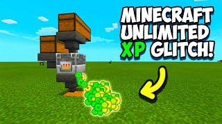 """Minecraft PS4 Bedrock - WORKING XP Glitch!! Super Easy! *WORKS ON ALL PLATFORMS!* """"PS4, Xbox, MCPE,"""""""