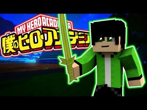 "Minecraft: My Hero Academia #3 - ""LEAF MANIPULATION!?"" (Minecraft Roleplay RPG Server)"