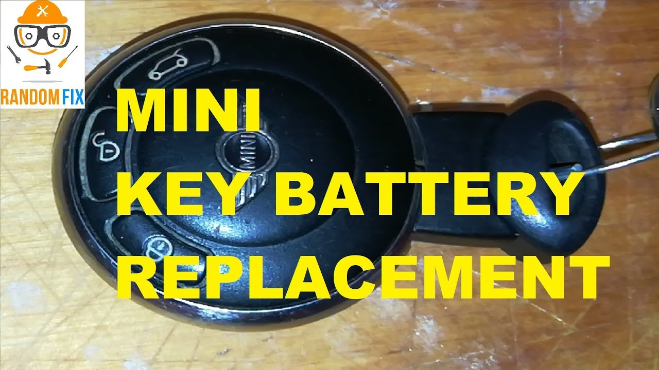 50356fbc340 ▶️Mini Cooper Remote KEY BATTERY, 2007 08 09 2010 11 12 13 2014 How to  Replace Remote Key Fob