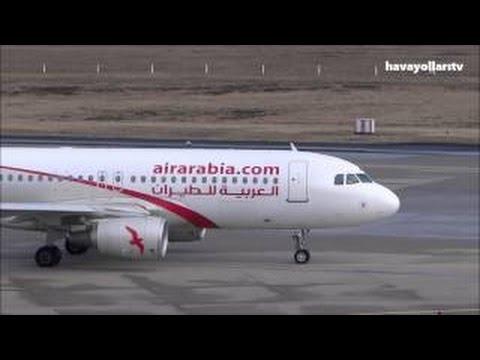 Air Arabia Take Off At Sharjah Airport, U.A.E