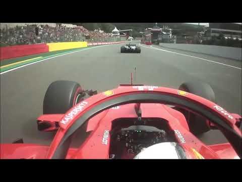 Vettel vs Hamilton - Kemmel straight battle (2017 vs 2018) Mp3