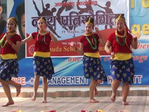 Lahana le jurayo ki mashup -Hetauda School of Management dance competition 2K17 winners