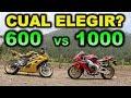 600 cc VS 1000 cc CUAL ME COMPRO?   - BLITZ RIDER
