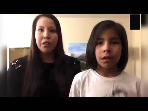 8 Year Old First Nations Boy Bullied For Having Long Hair