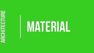What do I need to study Architecture? - Material 1/4