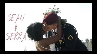 Our Wedding || Sean and Sierra || Romantic Interracial Wedding || Beach Wedding || Military Wedding