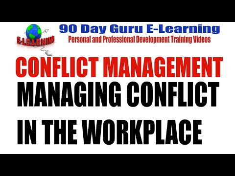 conflict and control in the workplace Scope—this toolkit provides an overview about how employers and employees can manage and resolve workplace conflict it contains recommendations for.