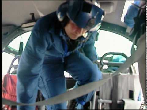 Helicopter Pilot Risks Life - Coast Guard Heroes