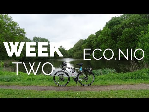Eco.nio - Vegan Cyclist Touring Europe - Week Two, Travelling France
