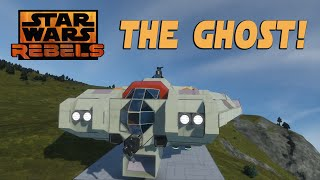Space Engineers Workshop | The Ghost! Star Wars Rebels!