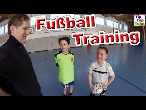 Fußball Training mit Ash Vlog TipTapTube