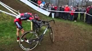 Julien Absalon cyclocross chrash ! - Roko Fržop