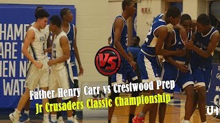 Father Henry Carr vs Crestwood Prep - Jr Crusaders Classic Championship Highlights