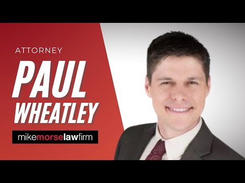 Attorney Paul Wheatley - Mike Morse Law Firm