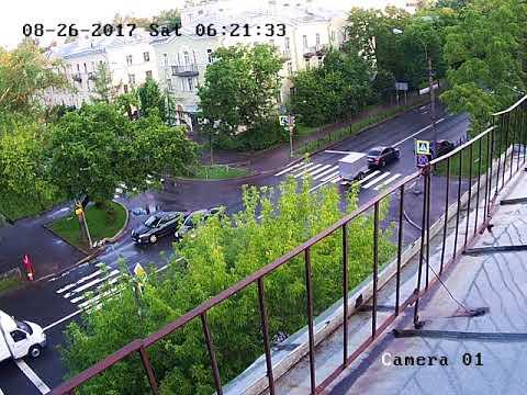Авария в Красном Селе 26.08.17
