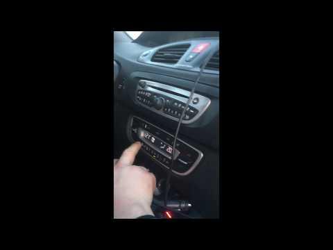 Съем и установка мотора отопителя Renault Grand Scenic III