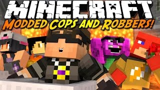 Minecraft Modded Cops N Robbers : DON