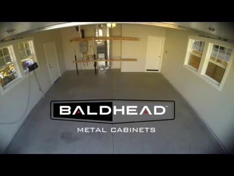 Garage Cabinet Install Timelapse HD. Baldhead Cabinets