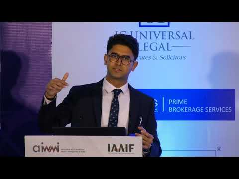 Recent Regulatory Trends in AIF industry @ 5th annual Alternative Investments Summit India 2018