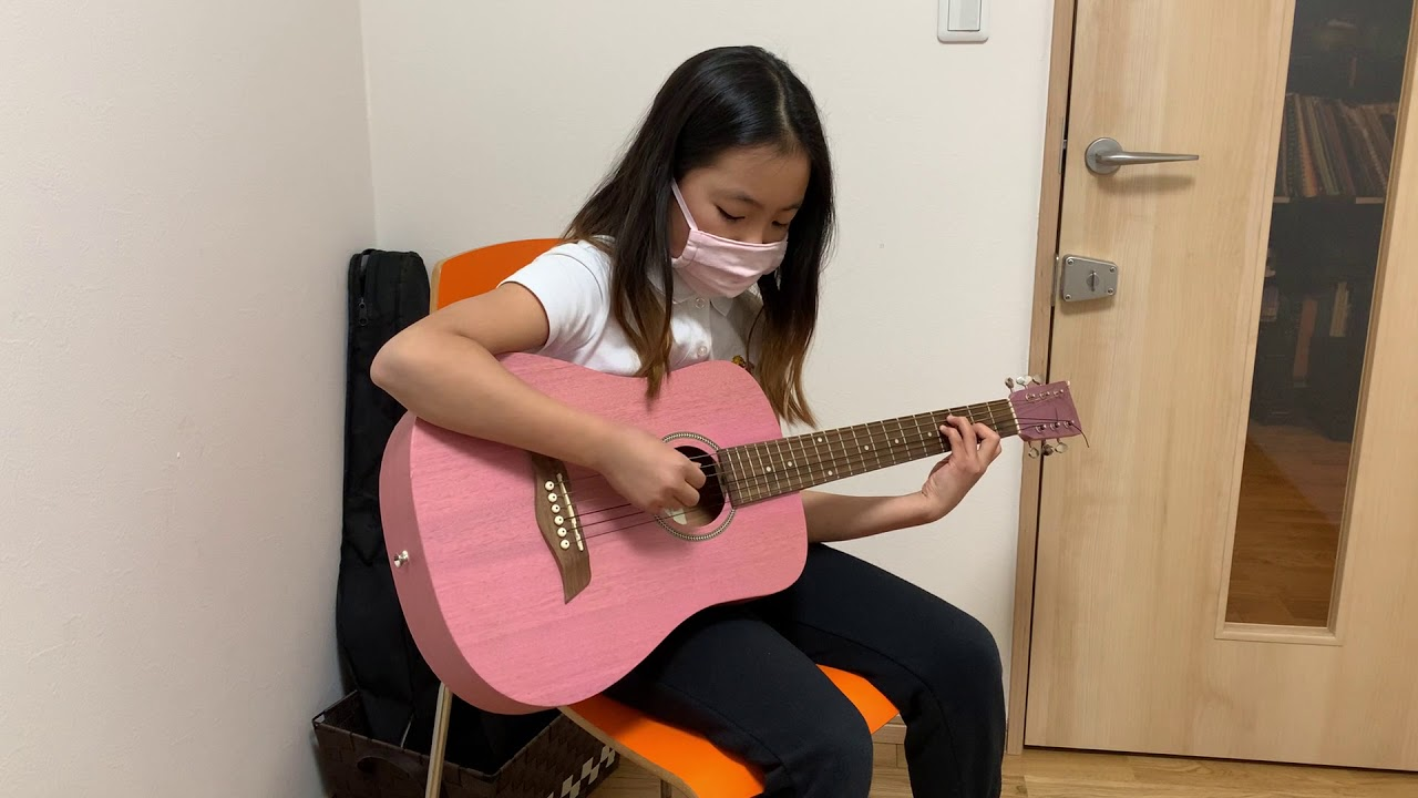 Hanako plays Day Tripper (the Beatles)