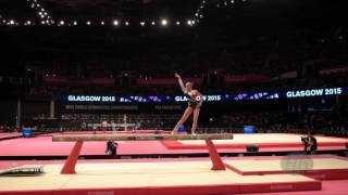 WEVERS Sanne (NED) - 2015 Artistic Worlds - Qualifications Balance Beam