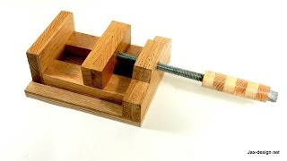 Make a Wooden Machine Vise