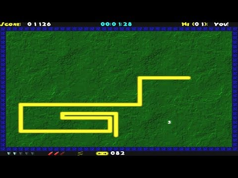 Deluxe Snake (Windows Game 2000)