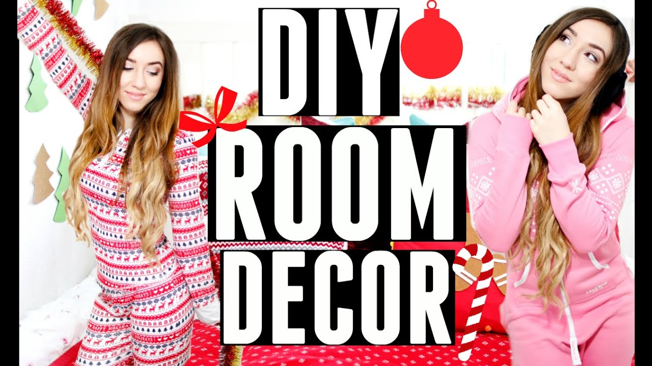 diy weihnachtsdeko f r die wohnung zimmer youtube. Black Bedroom Furniture Sets. Home Design Ideas