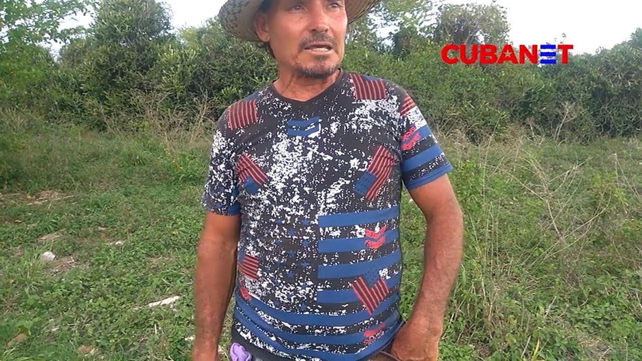 Niegan tierras a campesino CUBANO mientras su familia se MUERE de HAMBRE