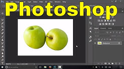 How To Make A Background Transparent In Photoshop-Tutorial